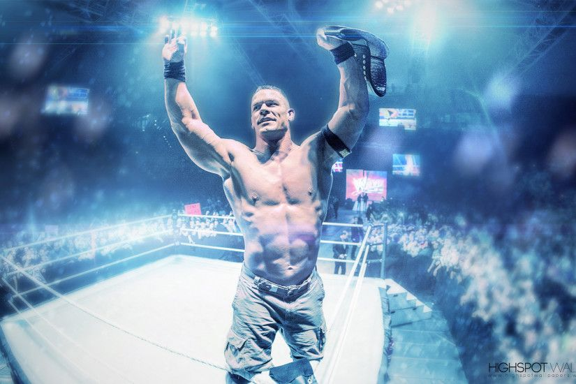 John Cena Vibrant Series Wallpaper