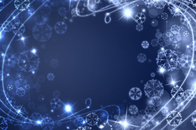 christmas themed desktop backgrounds ; abstract-glow-winter-HD-Wall009