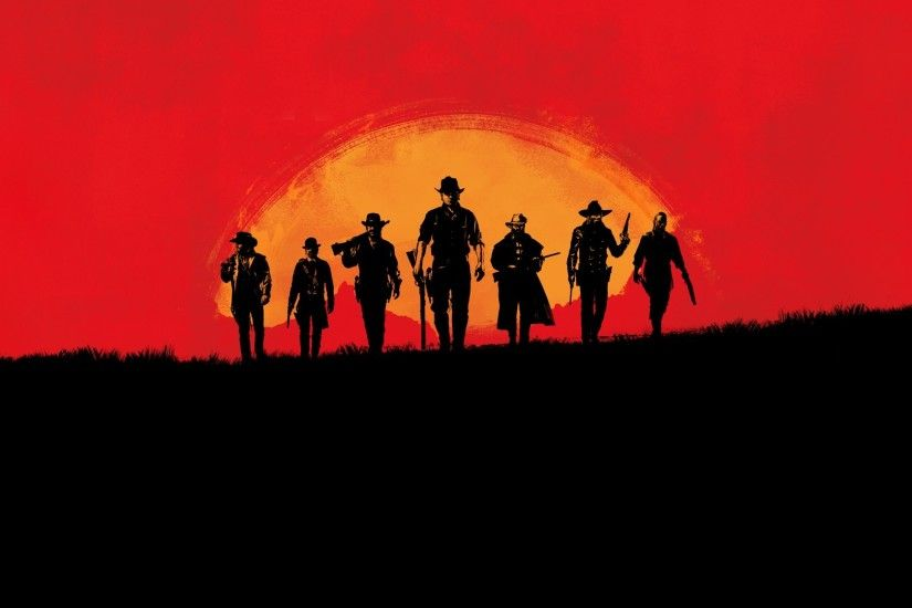 gamers, Red Dead Redemption, Video games, Gamer, Red, Sunset, Sunrise