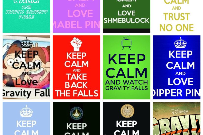 Colas de keep calm and love gravity falls hecho por lunas discos bill cipher