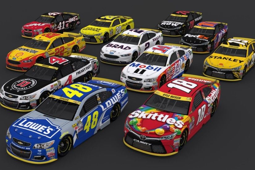 ... For The NASCAR Sprint Cup Paint Scheme Pack 1 image