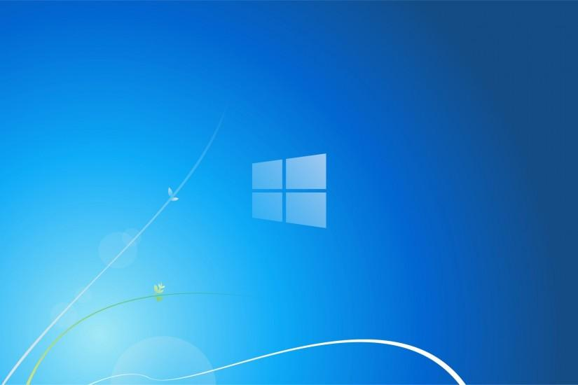 Windows 7 wallpaper 1