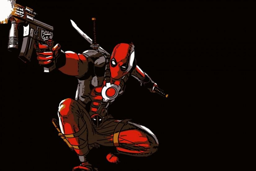 Deadpool Background for desktop.