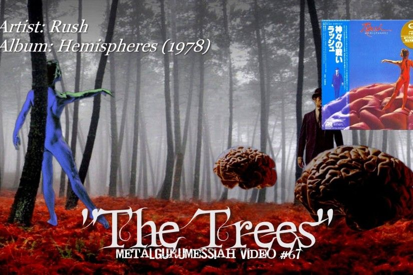 The Trees - Rush (1978) HQ Audio HD Video