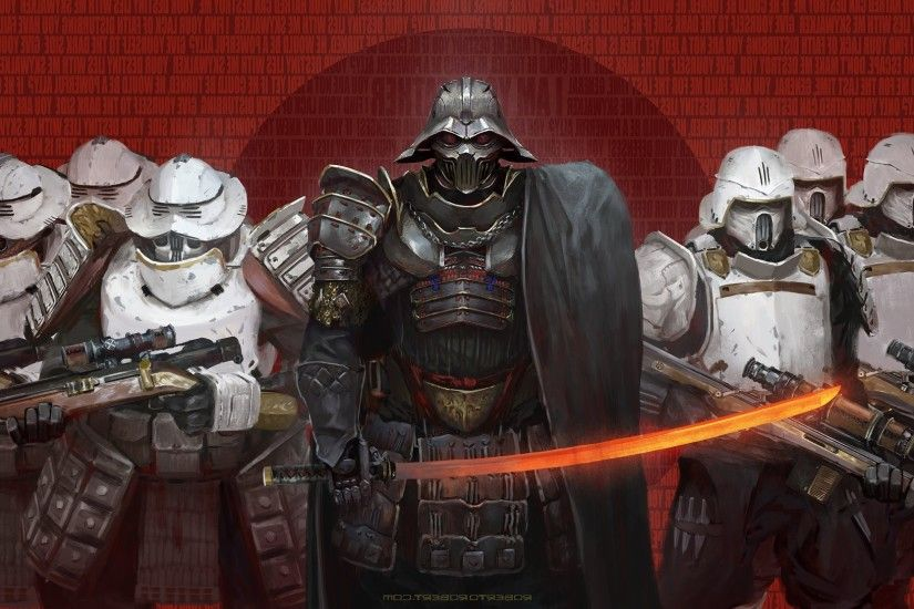 science Fiction, Samurai, Star Wars, Darth Vader Wallpapers HD / Desktop  and Mobile Backgrounds