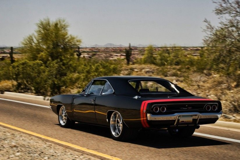 Dodge Charger RT 1969 » Cars » OldtimeWallpapers.com - Antique .