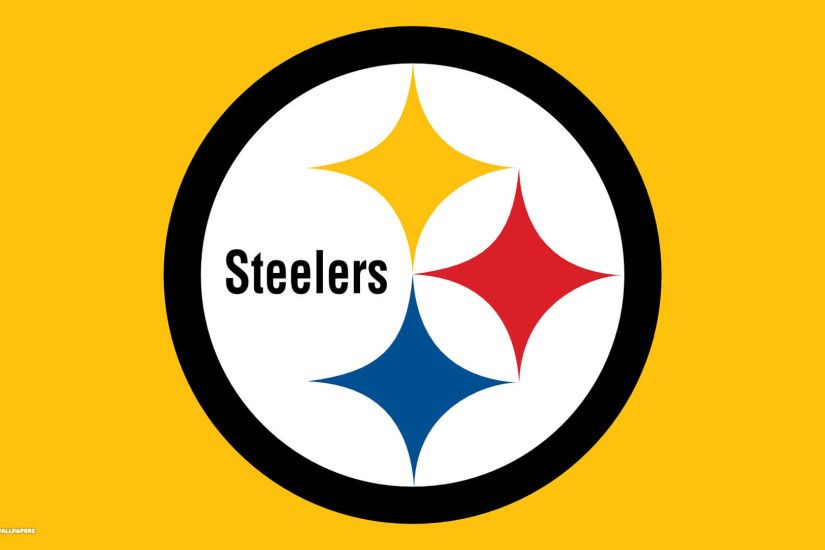 steelers yellow background