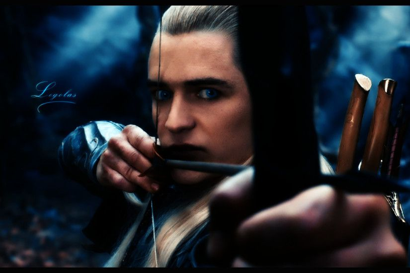 ... Legolas Background - The Hobbit by PinguAlex
