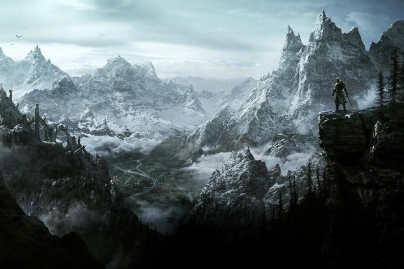 vertical skyrim wallpaper 1920x1080 x