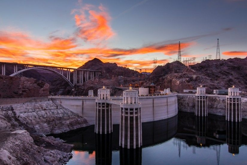 ... 11 Hoover Dam HD Wallpapers | Backgrounds - Wallpaper Abyss ...