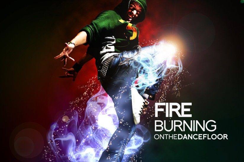 Fire Burnin On The Dancefloor HD and Wide Wallpapers