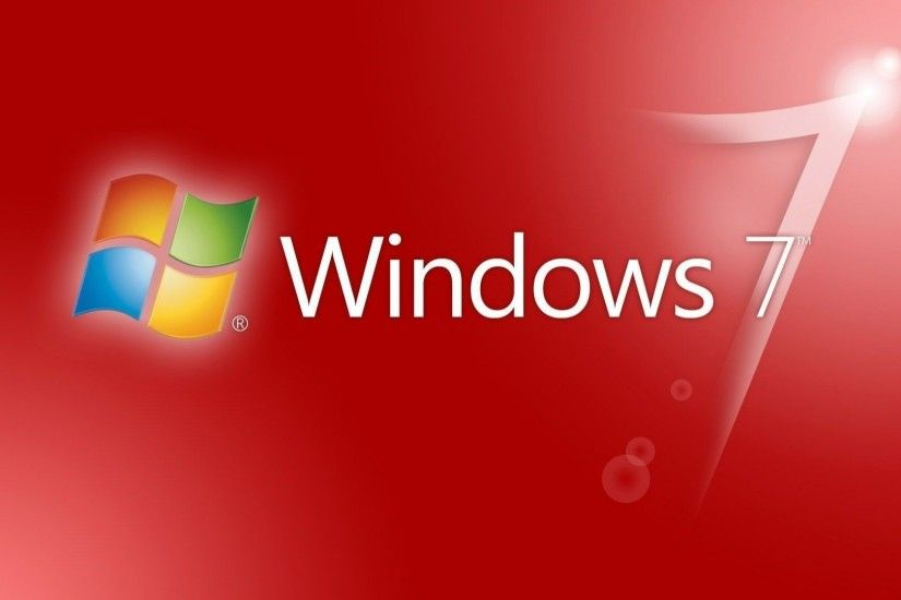 Tags: Background, Red, Windows 7 · Download