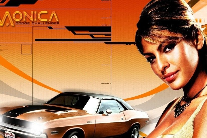 Preview wallpaper 2 fast 2 furious, eva mendes, monica fuentes, car, dodge