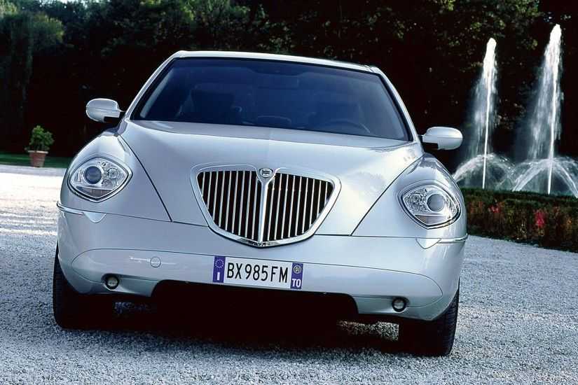 ... lancia thesis front side silver hd wallpapers ...