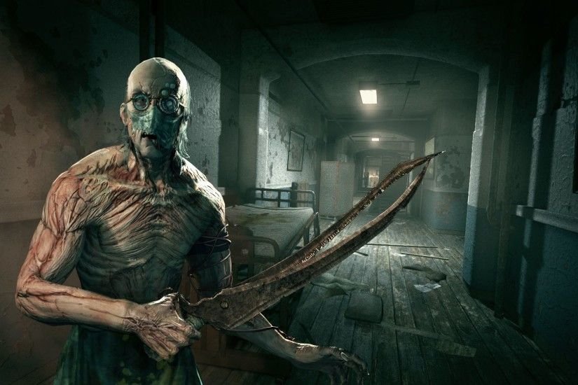 Video Game - Outlast Creepy Wallpaper