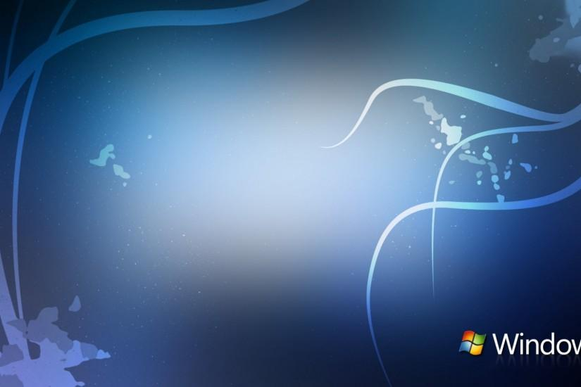 Windows 7 blue white line abstract wallpapers HD.