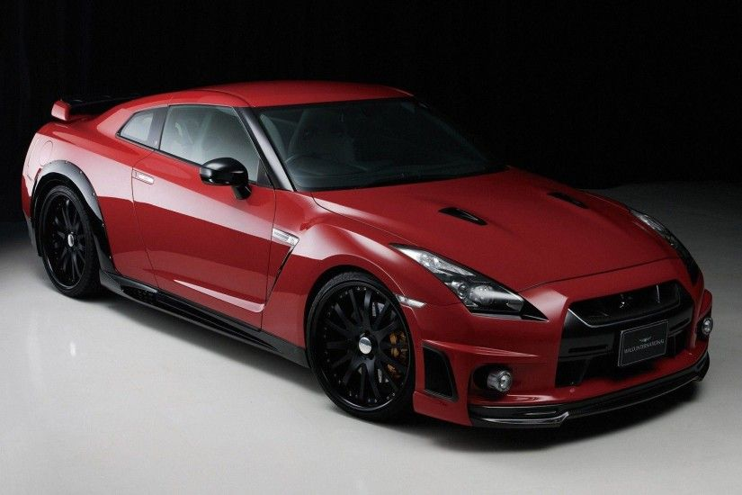 2015 Red Nissan Skyline GTR R35 Wallpaper HD - Cool Wallpapers .
