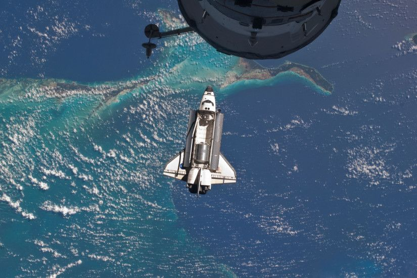 Last Flight, Iss, Atlantis, International Space Station, Space Shuttle,  Atlantis,