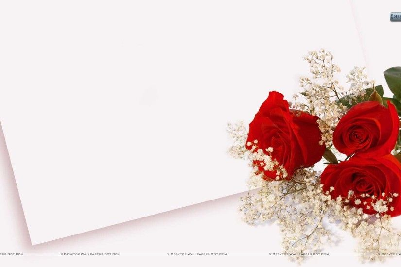 "You are viewing wallpaper titled ""Wedding Flowers ..."
