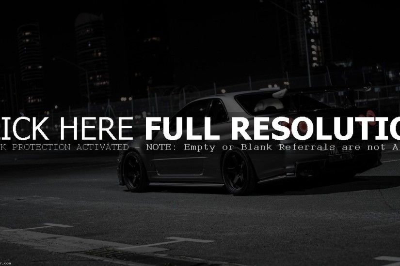 NISSAN SKYLINE GTR R34 WALLPAPER DOWNLOAD