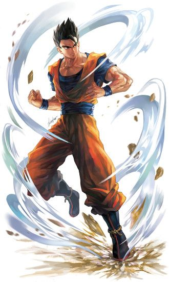 Ultimate Gohan Fan Art : dbz