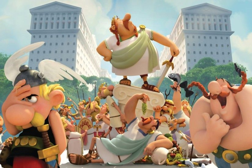 asterix the land of the gods : Wallpaper Collection