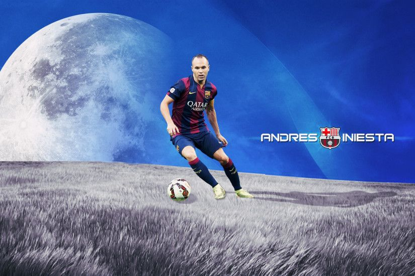 ... Andres Iniesta Barcelona Wallpaper 2015 - 2016 by MhmdAo