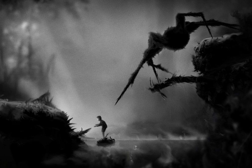 Limbo, Spider, Children, Dark, Video Games Wallpapers HD / Desktop and  Mobile Backgrounds