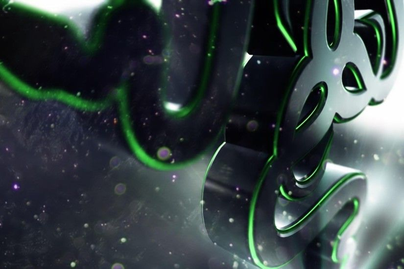 Preview wallpaper razer, logo, symbol, shape 1920x1080