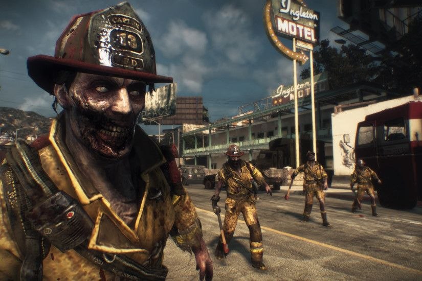 Dead rising 3 firefighter zombies in front of ingleton motel.jpg