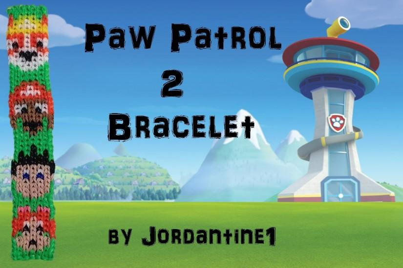 New Paw Patrol 2 Dog Bracelet Pattern - Alpha Loom / Rainbow Loom -  Bulldog, Chocolate Lab - YouTube