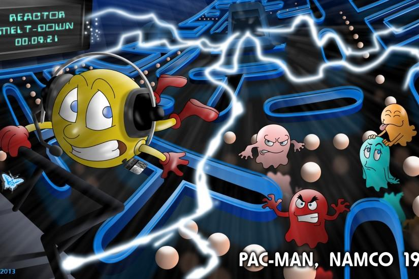 ... Pacman Fanfic - Pac-Man 1980. by Atariboy2600