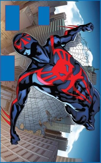 Find this Pin and more on My games, TV series, films and parkour wallpapers..  Spider-Man 2099 ...
