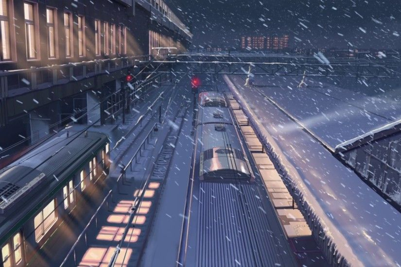 Art and Animation. Gorgeous. 5 Centimeters per Second