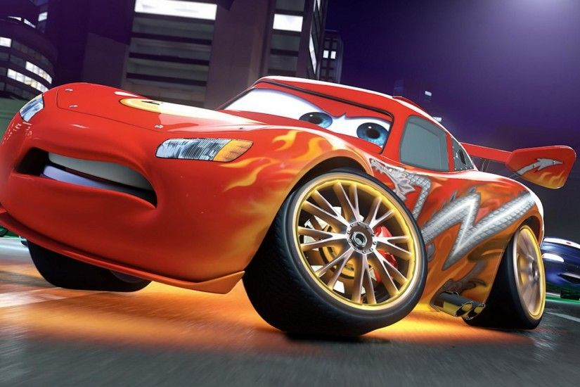 Lightning McQueen Free Desktop Wallpapers