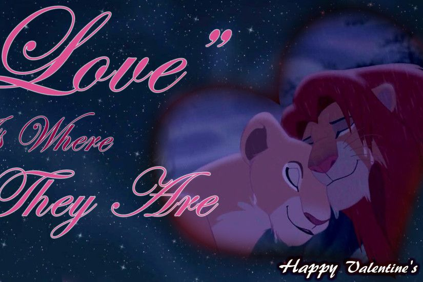 Cartoon <b>Wallpaper</b>: <b>The Lion King