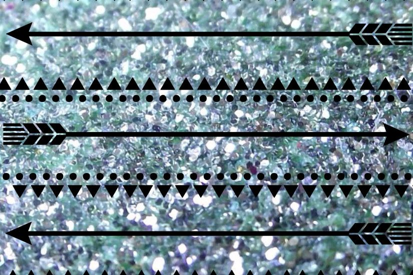 Aztec Glitter Background
