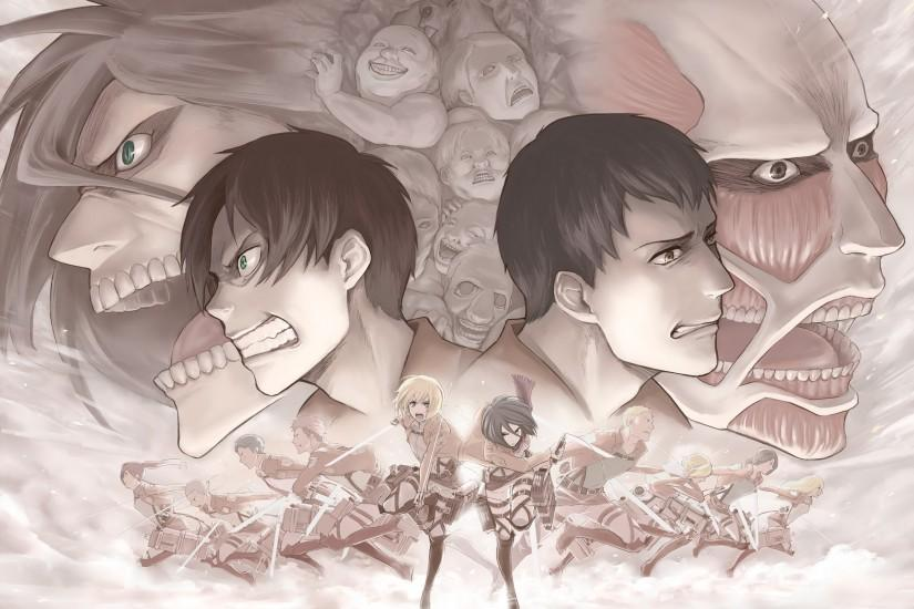 HD Wallpaper | Background ID:451609. 2500x1767 Anime Attack On Titan