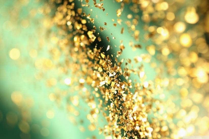 Free Gold Glitter Wallpaper.