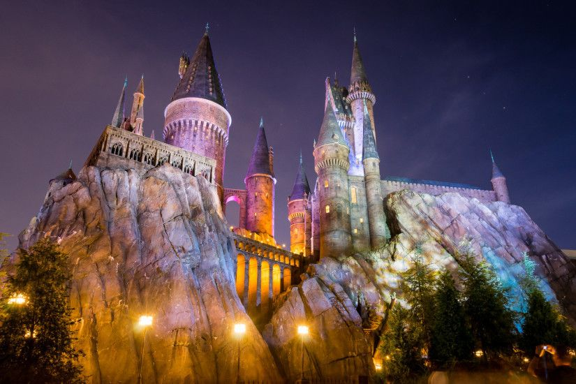 The Wizarding World of Harry Potter, Hogwarts Castle .