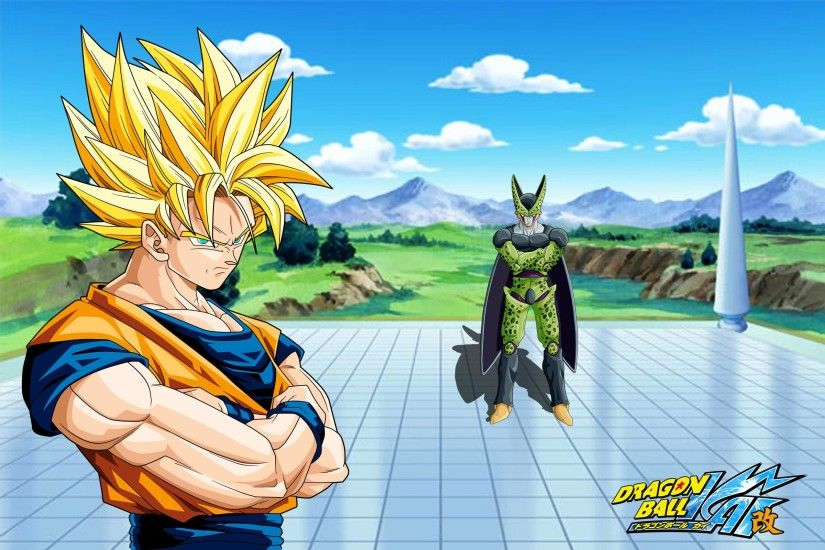 Cell goku dragon ball kai dragon ball z wallpaper | 2400x1600 | 8631 |  WallpaperUP