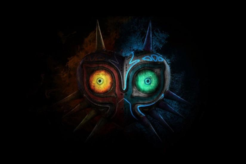 The Legend Of Zelda Majora Mask Full HD Wallpaper Desktop - Beraplan.