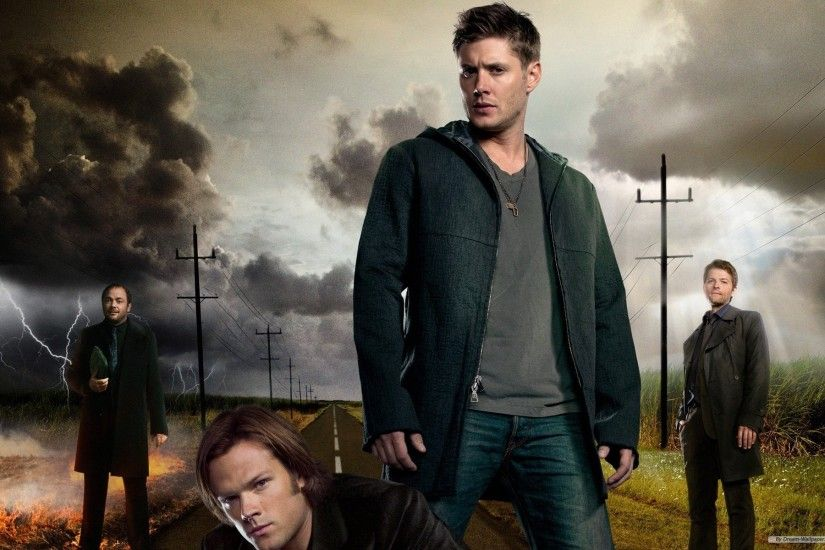 Get wallpaper Sam, Dean & Castiel - Supernatural Sam Dean Castiel And  Crowley .