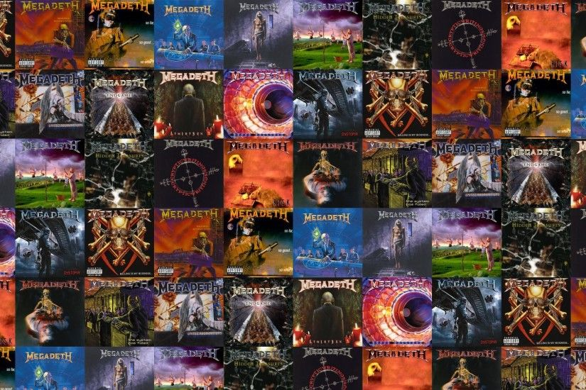 Download this free wallpaper with images of Megadeth – Killing Is My  Business, Megadeth – Peace Sells, Megadeth – So Far So Good, Megadeth –  Rust In Peace, ...