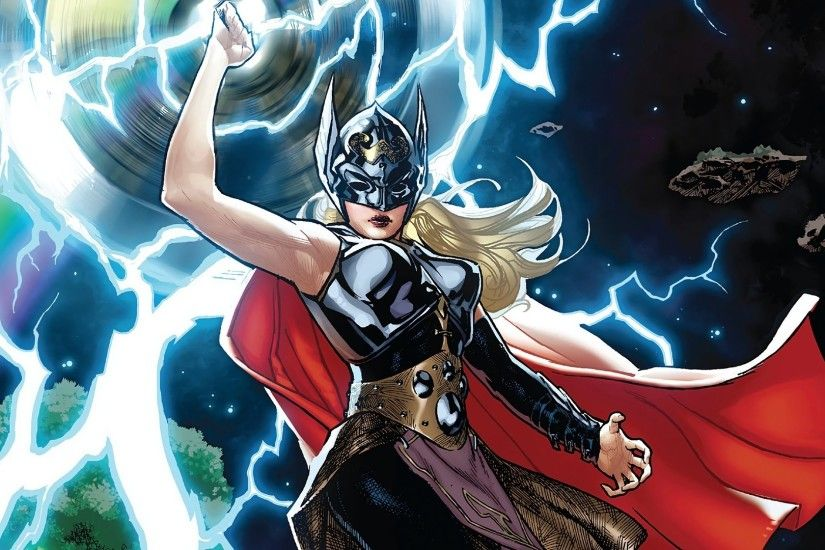 Comics - Thor Jane Foster Wallpaper