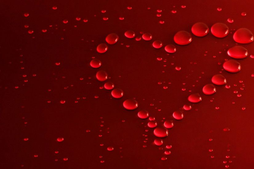 hd pics photos red heart love 3d hd desktop background wallpaper