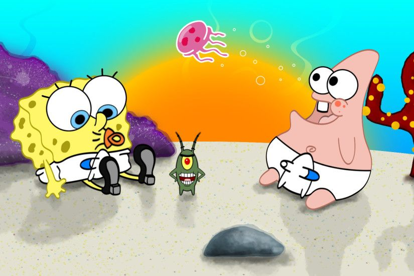 Spongebob Flower Backgrounds - Wallpaper Cave ...