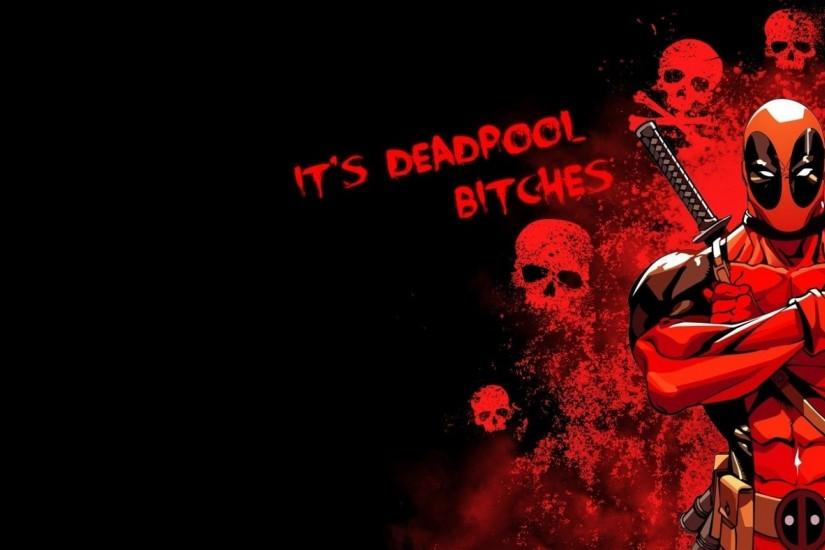 amazing deadpool background 1920x1080 tablet
