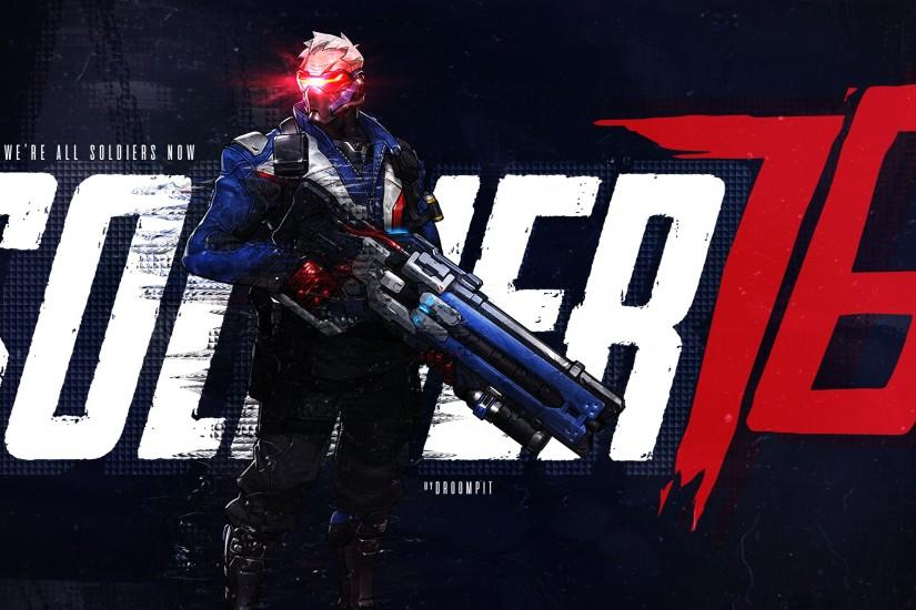 soldier 76 wallpaper 2560x1440 images