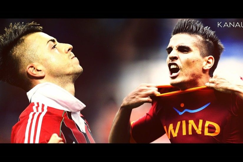 Stephan El Shaarawy vs Erik Lamela - Can't Hold Us | 2013 - HD - YouTube